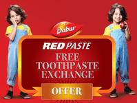 Dabur Red Toothpaste Free Sample