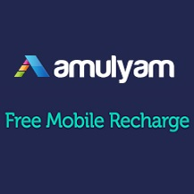 Amulyam Free Mobile Recharge Online   Earn Free Recharge