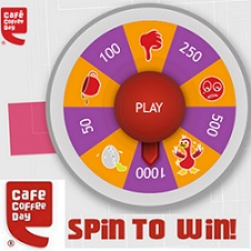 Cafe Coffee Day Spin to Win