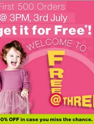 Firstcry Free at Three