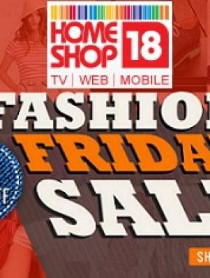 HomeShop18 Fashion Friday Sale
