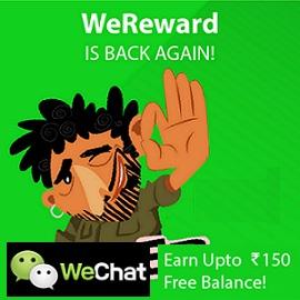WeChat Free Recharge WeReward