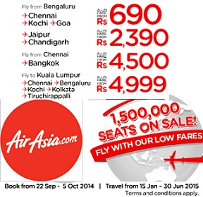 AirAsia India Sale Offer