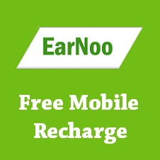 EarNoo Free Mobile Recharge Earn Free Recharge at Earnoo.com
