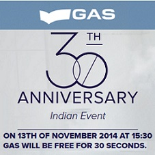 Gas Jeans Free Clothing For 30 Seconds