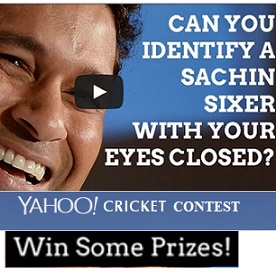 Yahoo Cricket Sachin Sixers Quiz