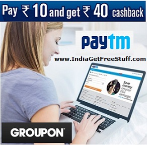 Paytm Groupon Deal