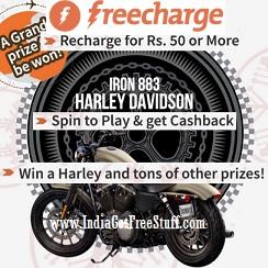 Freecharge HARLEYFC Offer