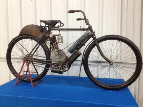 1904 indian camelback sells at auction indian motorcycle