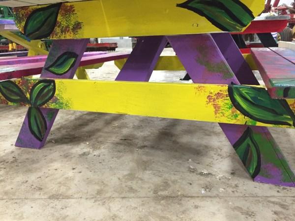 Crane table legs