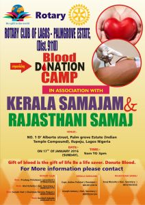 Rotary Blood Camp