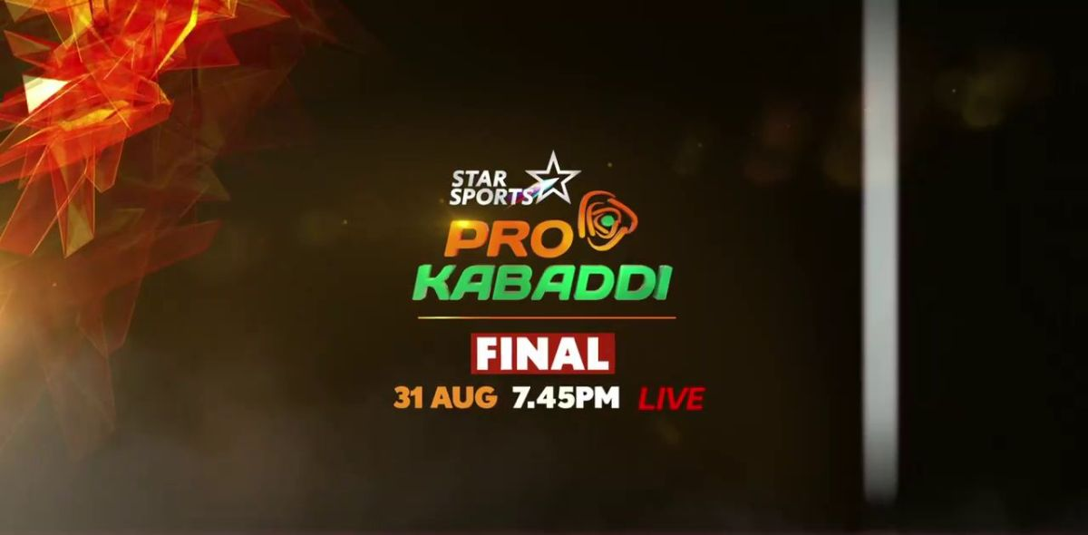 Pro Kabaddi League Finale Live On STAR Sports 2 - 31st August at 7:45 PM