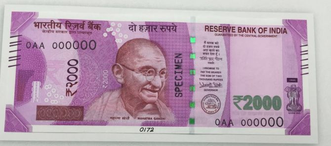 New Indians Rs 2000 Note