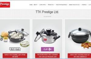 TTK Prestige acquires Horwood Homwares