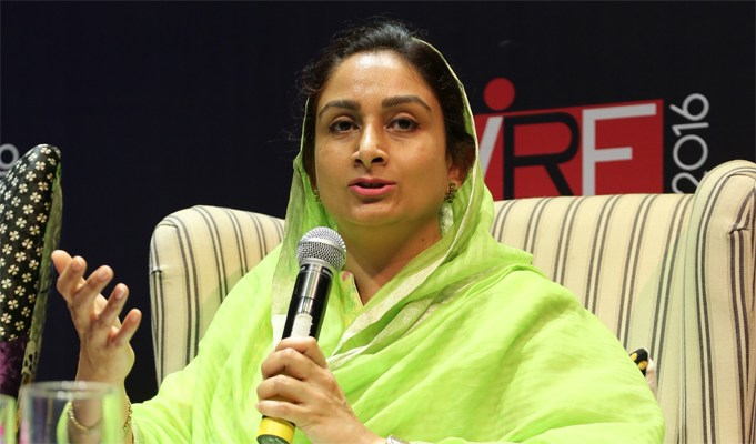 Govt to set up 500 cold chain projects to reduce post-harvest looses : Harsimrat Kaur Badal