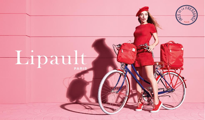 Lipault Paris partners with French style icon Ines De La Fressange