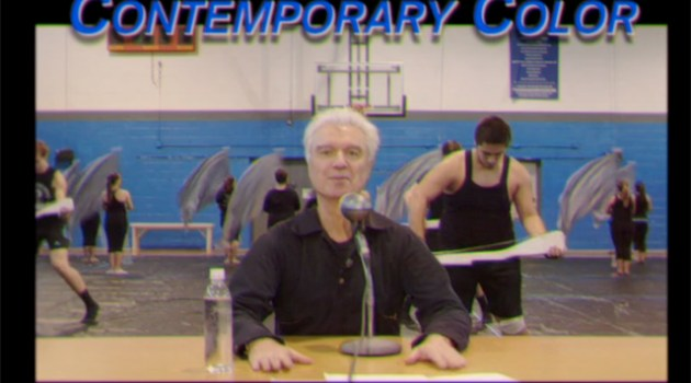 david byrne - contemporary color