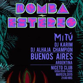 Bomba Estereo en Argentina
