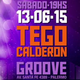 Tego Calderón en Argentina