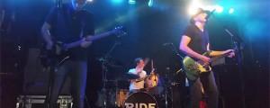 Ride volvió a los escenarios después de 14 años