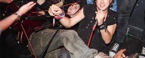 The Libertines sorprendió a todos en un bar para 200 personas