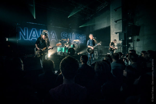 Nada Surf, le Grand Mix, Tourcoing, 12 avril 2016