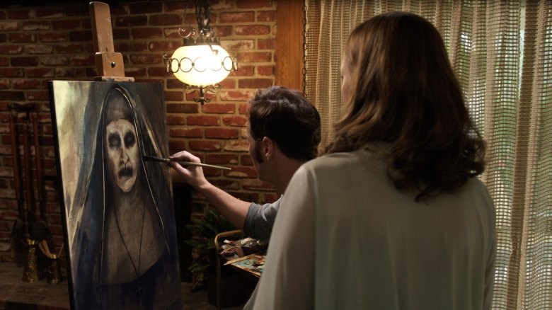 the conjuring 2 spinoff nun will get the demonic villain back in habit