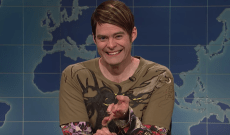 'SNL': Bill Hader Returns as Stefon, Cracking Up as He Jokes About 'Roman J. Israel, Esq.' and 'Call Me by Your Name' — Watch