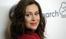 Alyssa Milano Calls Out Wendy's for 'Getting on the Wrong Side' of Time's Up and #MeToo