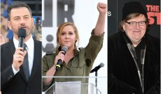 NoRA: Amy Schumer, Michael Moore, Jimmy Kimmel, and More Announce New Initiative to Combat the NRA