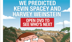 'Family Guy' Launches 2018 Emmys Campaign by Joking the Series 'Predicted Kevin Spacey and Harvey Weinstein'