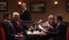 'SNL' Cold Open Channels 'The Sopranos' Finale With Alec Baldwin, Robert De Niro, and Ben Stiller — Watch