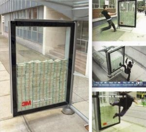 3M Security Glass Undercover Marketing Example