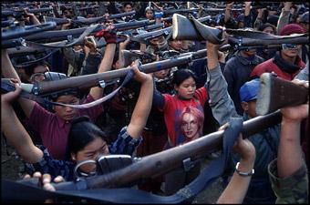 Prova di forza a Kathmandu. Di Davide Torri