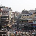 Delhi. Vista dalla grande moschea