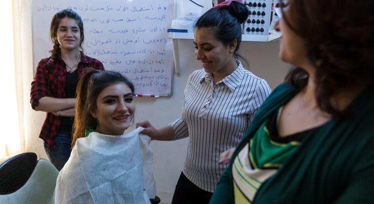 La dignità attraverso il lavoro per le donne irachene