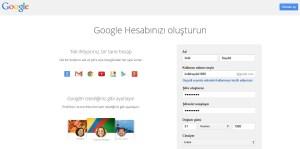 Google Kaydol