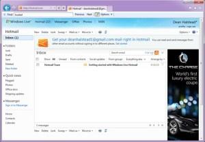 Hotmail aç