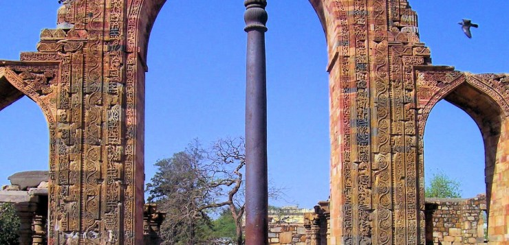 World's mysterious Iron Pillar