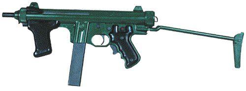 Pindad PM-1 yang digunakan Korps Jagawana.