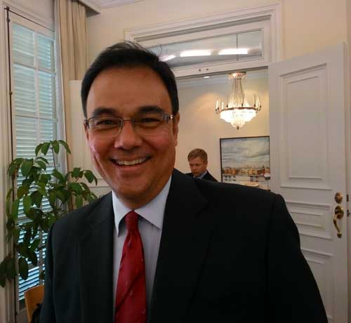 Lars Nielsen, Deputy Head of Saab Indonesia