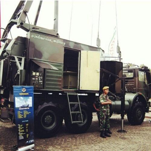 Radar Giraffe 40 milik Arhanud TNI AD. Foto: Indonesia_military