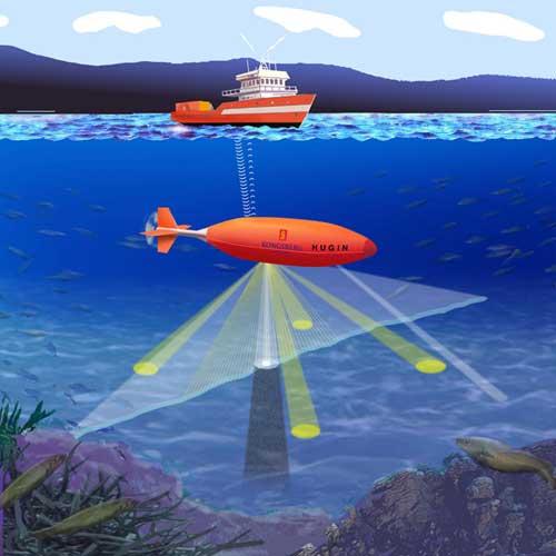 поиск и слежение за подводными лодками