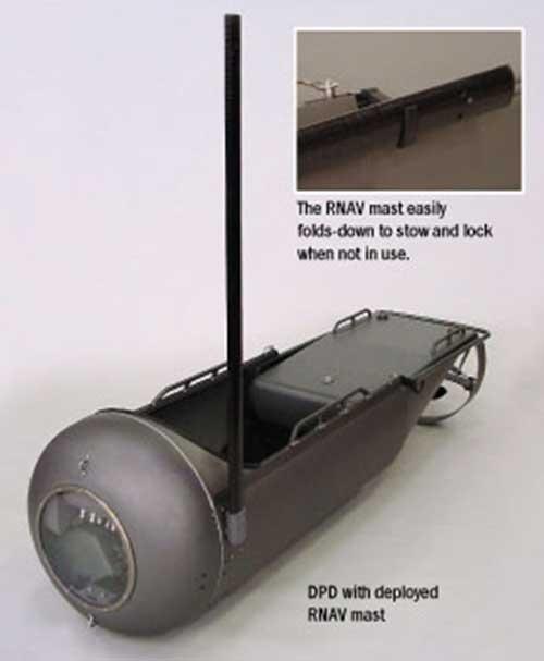 DPD dengan antena Recon Navigation System.