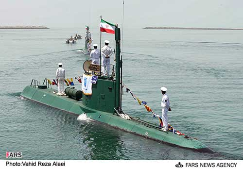 Kapal selam mini AL Iran - Ghadir Class.