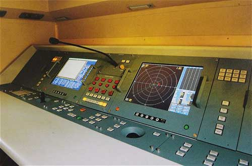 Ruang konsol kendali AF902.
