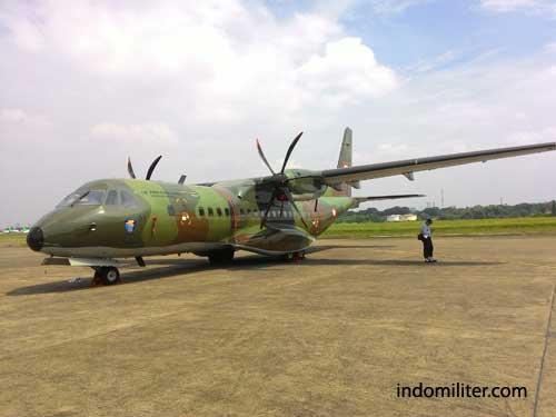 C-295 TNI AU cukup intens dilibatkan dalam operasi SAR jatuhnya pesawat AirAsia QZ8501.