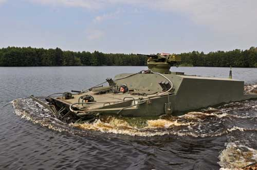 BT-3F APC: Dibangun dari Sasis BMP-3F, Siap Gantikan Pansam BTR-50P Marinir TNI AL