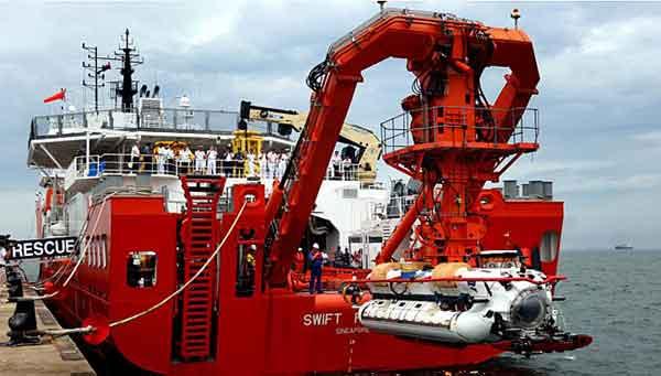 DSAR 6 MV Swift Rescue: Kapal Selam Penyelamat, Spesialis Laut Dalam