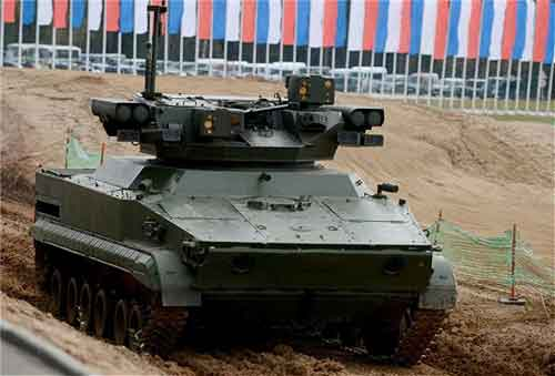 UDAR_UCGV_unmanned_combat_ground_vehicle_BMP-3_infantry_fighting_vehicle_Russia_Russian_defense_industry_002